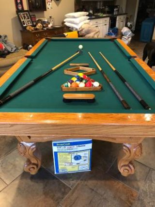 Solo 174 Salem Great Pool Table 252