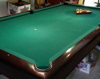 Brunswick Hawthorn Pool Table