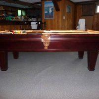 7' Pool Table 3pc slate