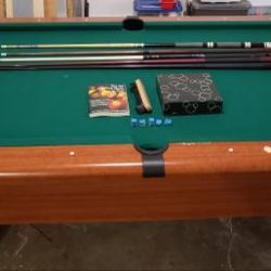4x7 Pool Table for Sale