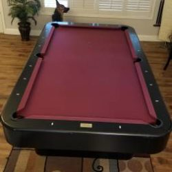 Fischer Pool Table & Balls, etc..