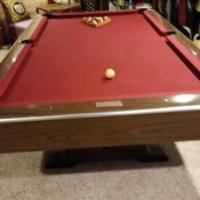 Sweet Brunswick Pool Table for Sale