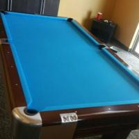 Vintage 1957 Brunswick Pool Table