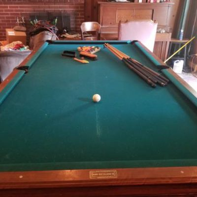 Custom Golden West Billiards Table