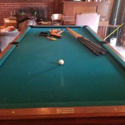 Custom Golden West Billiards Table