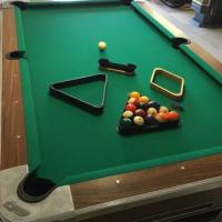 Commercial Coin-Op Slate Pool Table