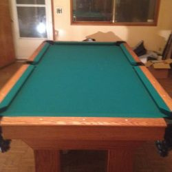 Custom Built Pool Table