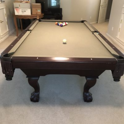 Great 8' Golden West Pool Table!