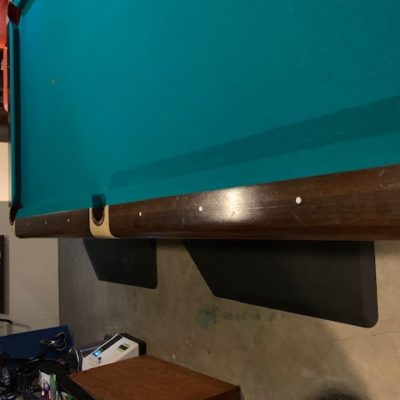 Brunswick classic pool table originally from Mississippi (SOLD)