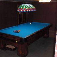 Brunswick Monarch Cushions Pool Table.