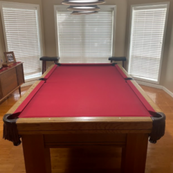 Pool Table - Custom Made by Goldenwest Billiards