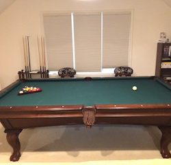 Olhausen 8' Santa Ana Maple Pool Table SOLD