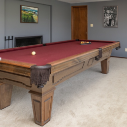 Vintage 70s pool table