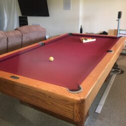 Golden West Vision I model full-size pool table