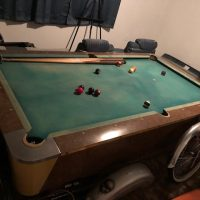 1963 valley pool table