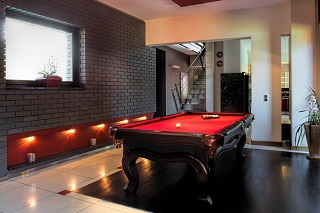 Portland pool table room sizes info featured